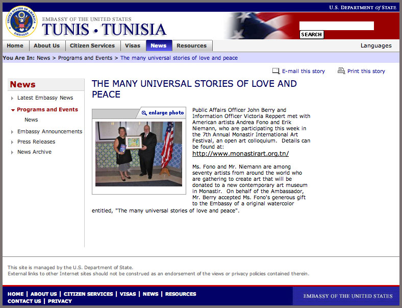 Tunisia Website